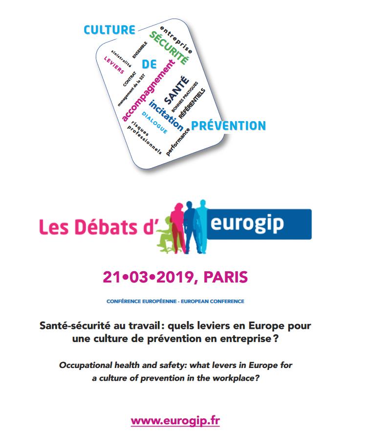 les débats d'Eurogip - 21 mars 2019