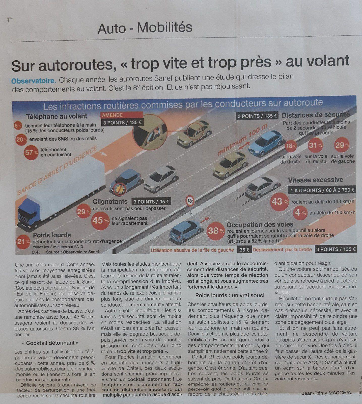 artice ouest france 04/07/2019