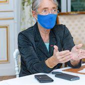 """Exclusif : """" L'entreprise n'est pas un lieu à fort risque de contamination """" (Élisabeth Borne)"""