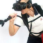 XR Fire Trainer - Agogy innovation pédagogique formation prévention des risques